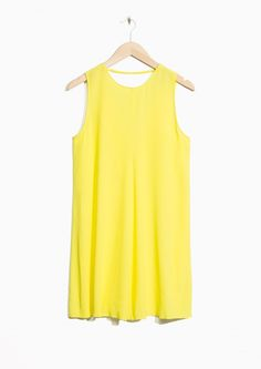 & Other Stories image 1 of Mini Dress in Yellow