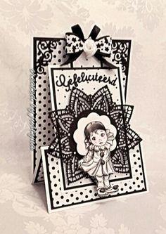 Gefeliciteerd Fancy Fold Cards, Folded Cards, Stepper Cards, Slider Cards, Easel Cards, Marianne Design, Card Patterns, Pretty Cards, Card Sketches