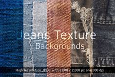Check out Jean Texture Backgrounds by VL Shop on Creative Market
