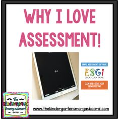 Assessments can be easy and painless with ESGI! This blog post explains why I love assessments and how you can love assessment too!