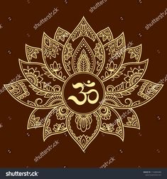 Mehndi lotus flower pattern with mantra om symbol for henna drawing and tattoo. decoration mandala in ethnic oriental, indian style. Henna Drawings, Flower Tattoo Drawings, Flower Tattoo Foot, Mantra, Mehndi, Lotus Vector, Lotus Logo, Lotus Tattoo Design, Sacred Geometry Tattoo