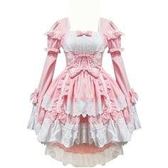Partiss Damen Langarm Multi Layers Pink Lolita Kleid, xxl,pink Partiss http://www.amazon.de/dp/B00S5WN3JU/ref=cm_sw_r_pi_dp_ODoTub0GM02BW