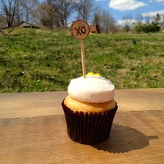 XO Cupcake Toppers - Wedding - Rustic Cupcake Toppers