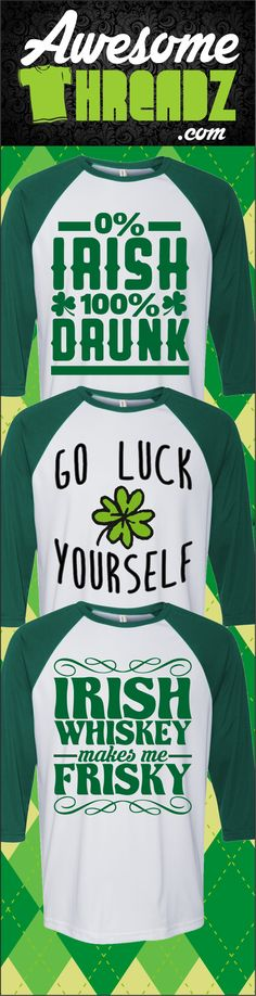Dozens Of St. Patrick's Day T-Shirts To Choose From