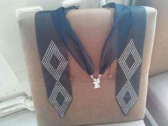 Scarf Jewelry, Bargello, Embroidery, Model, Design, Fashion, Hardanger, Amigurumi, Chic Dress