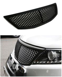 Front Hood Radiator Tuning  Grill KIA Sorento Bentley Style BLACK MATTE Net Gril #KIa