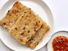 Turnip or Radish Cake with Chinese Sausages Recipe