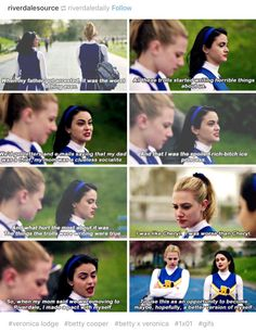 Riverdale. Strong female characters are something I'm so happy to welcome.