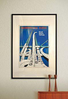 Trafic Poster Yugoslavia Version