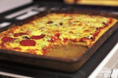 Have you ever wondered how to make pizza crust? This one bowl pizza crust recipe is a great recipe to try! It's garlicy and delicious.