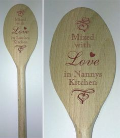E Wedding Invitation Templates Wood Burning Crafts, Wood Burning Patterns, Wood Burning Art, Wooden Spoon Crafts, Wood Spoon, Engraved Gifts, Personalized Wedding Gifts, Personalised Gifts, Dremel Projects
