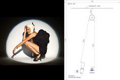 Zoomspot - BRIESE Lichttechnik Photography Lighting Techniques, Studio Photography Poses, Photography Lighting Setup, Portrait Lighting, Photography Challenge, Photography Basics, Photography Lessons, Photo Lighting, Light Photography