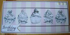 Cupcake Birthday Card £1.50
