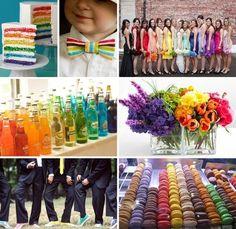 Color Inspiration Wedding Bridesmaids Photos on WeddingWire