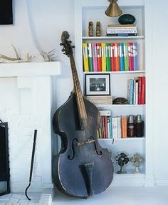 The upright bass that is.