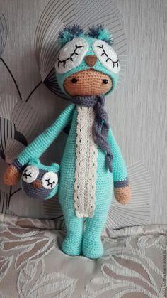 Купить Кукла-игрушка Lalylala Совушка - лалилала, кукла ручной работы, кукла в подарок ♡