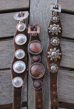Diamond B Jewelry - Hair-On Cow Hide Bracelets