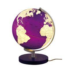 Leuchtglobus Terra Violett, 89€, jetzt auf Fab.