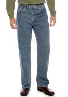 Wrangler Pale Smoke Relaxed Fit Jeans