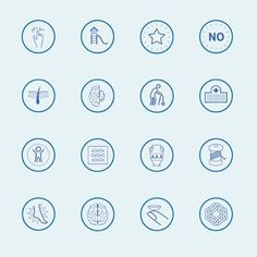 Set of icons developed for HSN  Design by: @_neo_design_  #icon #ikon #design #graphicdesign #infographic