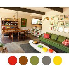 1000 images about color palette mid century on pinterest color palettes aloe and modern. Black Bedroom Furniture Sets. Home Design Ideas