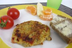 Baby Rezept. BLW Rezept Hirseomelett auf babyspeck.at. Baby led weaning Rezept zum Frühstück. Hirse, Tomaten und Ei.