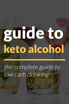 Alcohol on a Low Carb Diet! Alcohol gets a bad rep, and is certainly one of the most abused substances in the world. It can become a serious problem when it interferes with your personal/social life and well-being. To enjoy it we need to exercise moderation and self-control. If you like having a couple