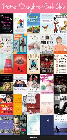 Books to give mom for Mother's Day.