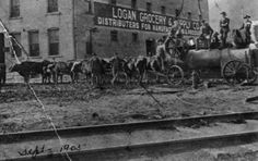 LOGAN COUNTY, WV, 1905 — At the time, Logan was a wild and rowdy region in southern West Virginia.