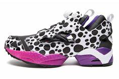 Jun Watanabe x Tamiya x Reebok Insta Pump Fury - Once again dousing the distinctive upper in dots by the dozen! #sneakers