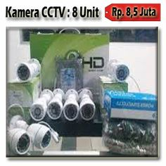 8 Kamera CCTV AHD 1.3MP