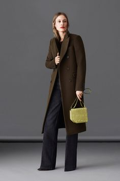 Love this Lauren Bacall like menswear look!  Bally | Fall 2014 Ready-to-Wear Collection | Style.com