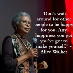 Don't wait around for others to be happy for you. Know you have accomplished something great and keep getting better. Make your own happiness!