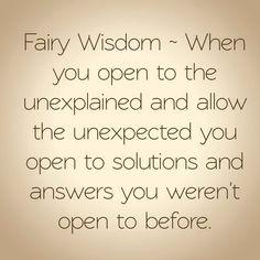 Fairy Wisdom by Elizabeth Saenz from theexpandedgateway.com and Faerydoorways.com