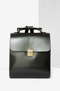 Kelsi Dagger Assembly Leather Backpack - Turn On, Tune In, Drop Out