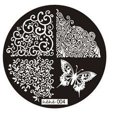 JACKY 2016 Pattern Nail Art Image Stamp Stamping Plates Manicure Template 004: Amazon.co.uk: Beauty