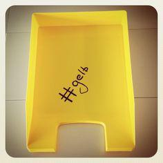 #gelb #diepost #swisspost #hashtag