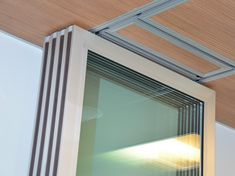 Soundproof Windows To Keep The Outside Noise Away Glass Partition, Partition Walls, Murs Mobiles, Floor Design, House Design, Soundproof Windows, Sliding Wall, Small Apartment Design, Folding Doors