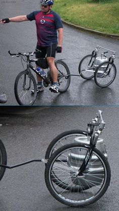 Now here's an idea! Beer On Tap Bike thanks to Idske Mulder