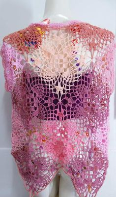 Crochet wearable Vest Made to order Crochet by Kninghandmade
