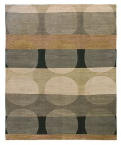 The Total Eclipse Gray tone contemporary Oriental carpet showcases an organic motif and is made from high mountain wool. Available in a choice of charming colors, this exquisite piece is part of the Kotana collection from Tufenkian Rugs. http://www.cyrusrugs.com/tufenkian-rugs-james-tufenkian-item-11256&category_id=0