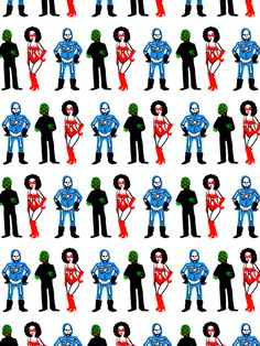 Kriminal pattern  Illustration by Vito Montolio