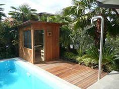 Sauna da esterno by Emoplast  http://www.emoplastsaune.com/saune-finlandesi/saune-su-misura/