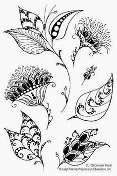 Floral Zentangle Photos - Bilder Land