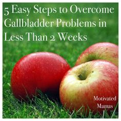 Natural Physician describes this simple, 5-step method to get rid of gallbladder trouble for good... Good stuff!!