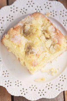 Butterkuchen mit Pudding - Butter Custard Cake Rezept Recipe   Das Knusperstübchen