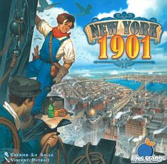 New York 1901 | Image | BoardGameGeek geek rating 6.593, avg rating 7.07