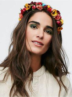 Free People Frida Floral Headband, $98.00