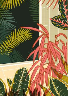 It's Nice That : Mexican illustrator Elena Boils's luscious floral prints for YCN
