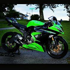 Ninja 636 Ninja Zx6r, Sportbikes, Custom Bikes, Motorbikes, Biker, Cars, Vehicles, Collection, Motorcycles
